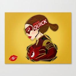 XSuperModels Jesse Quick PopHead Canvas Print