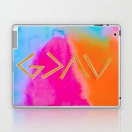 God Is Greater - Tie Dye Laptop & iPad Skin