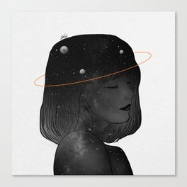 Imaginary Night. Canvas Print