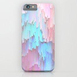 Pastel Glitches Fall iPhone Case