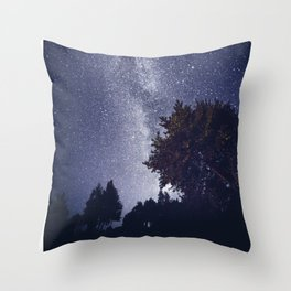 When you shine on me Throw Pillow