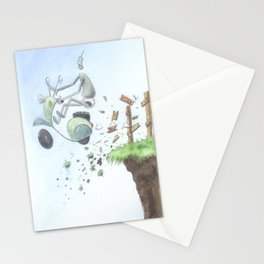 Lost Robot Stationery Cards