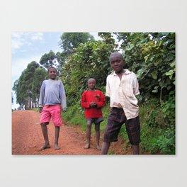 Uganda, Africa Canvas Print