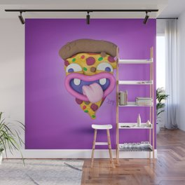 The almighty slice of pizza Wall Mural