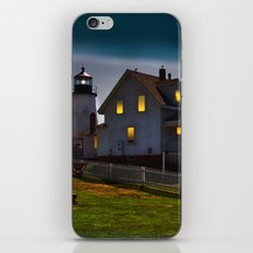 The Lights are on at Pemaquid iPhone & iPod Skin