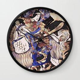 Tomoe Gozen- Female Samurai Wall Clock