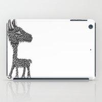 llama iPad Cases featuring Llama by Jamie Killen
