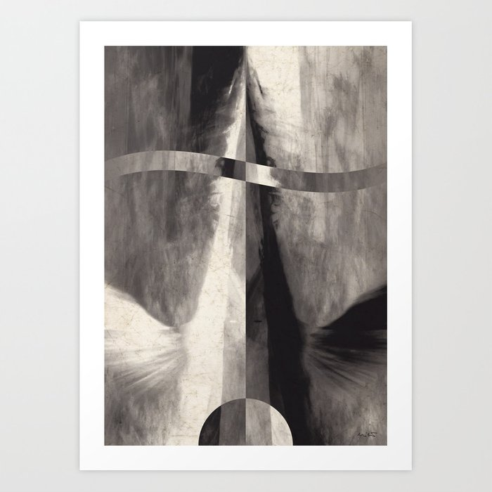 One Way 0117 Art Print