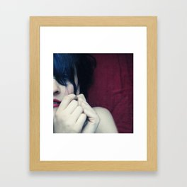 one way or another Framed Art Print