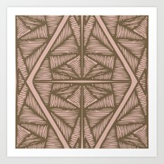 Tendons-Mousse Art Print