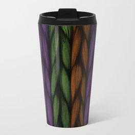 Background weave plait purple Travel Mug