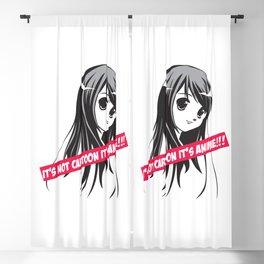 It's not cartoon, It's anime! Blackout Curtain