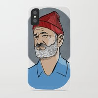 zissou iPhone & iPod Cases featuring Zissou by Max the Kid