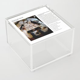 My Life Is Like A Collage / Art Stories Acrylic Box