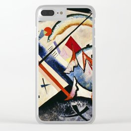 Wassily Kandinsky - White Cross Clear iPhone Case