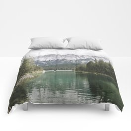 Looks like Canada - landscape photography Comforters