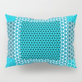 Abstract Turquoise Pattern C1 Pillow Sham