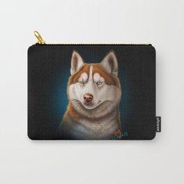 Siberian Husky Carry-All Pouch