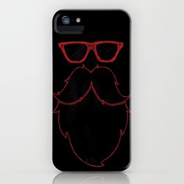 EDM Hipster iPhone Case