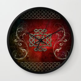 The celtic knot Wall Clock