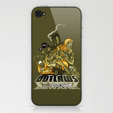Outlaws iPhone & iPod Skin