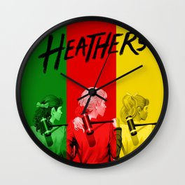 HEATHERS THE MUSICAL Wall Clock