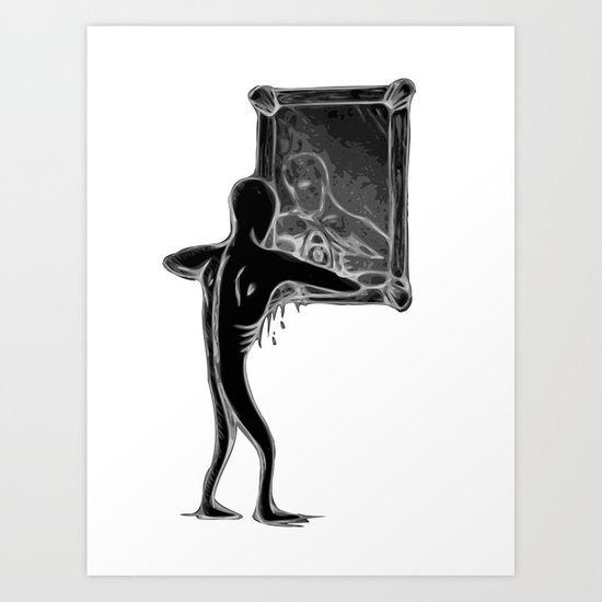 EYESEEME v2 Art Print