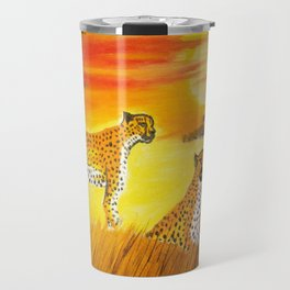 Tigers Sun Travel Mug
