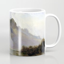 William Piguenit Mount Olympus, Lake St Clair, Tasmania Coffee Mug