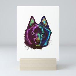 Splash Schipperke Dog Mini Art Print