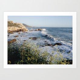 Avila Beach Bluffs Art Print
