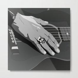 Hand illustration Metal Print