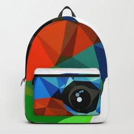 Bird art Saira Nature Animals Geometric Backpack