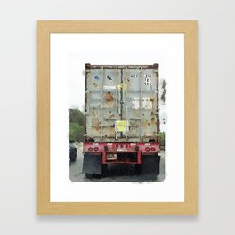 Daily Truck: 09/03/15 Framed Art Print