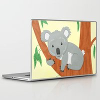 koala Laptop & iPad Skins featuring Koala by Claire Lordon