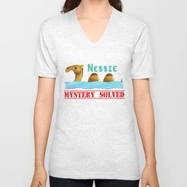 Nessie was a camel or so Unisex V-Neck