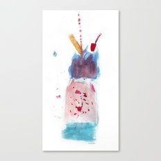 Icecream Canvas Print