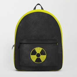 Grunge Radioactive Sign Backpack