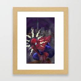 Spidey Sense Framed Art Print