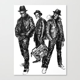 the Legend of Hip Hop Canvas Print
