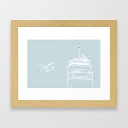 Beantown Love Framed Art Print