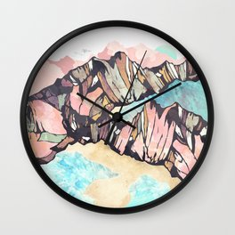 Solitary Beach Wall Clock