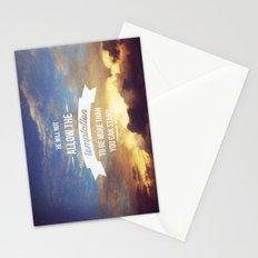 1 Corinthians 10:13 Stationery Cards