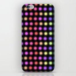 Disco Lights iPhone Skin