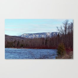 Mont Albert in the Spring Canvas Print