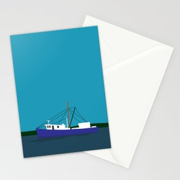 Trawler Boat Stationery Cards