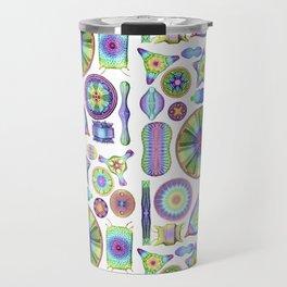 Ernst Haeckel Rainbow Diatoms Travel Mug