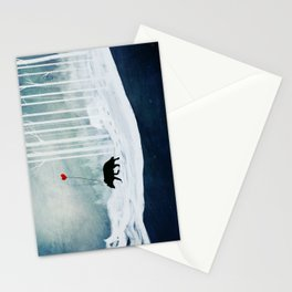 WOLF - A Love Always Carried  Stationery Cards