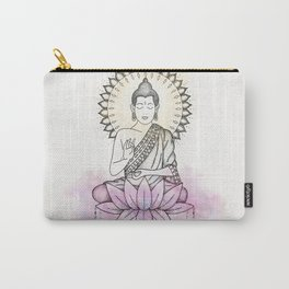 Lotus Buddha Carry-All Pouch