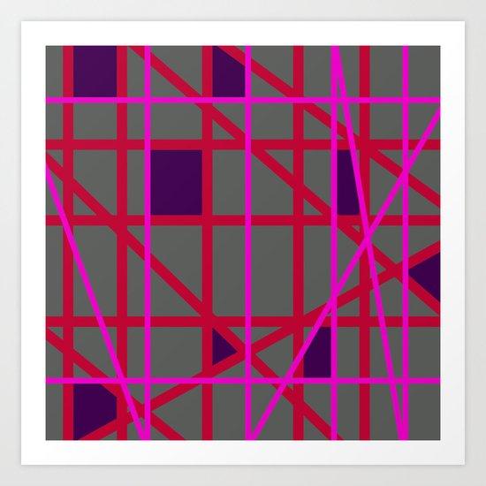 Abstract RF Art Print
